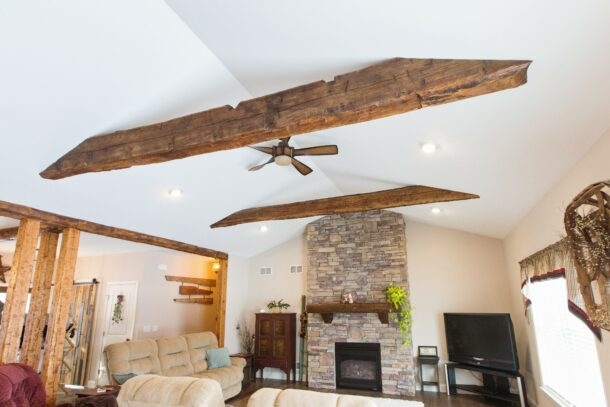 ism construction exposed beams