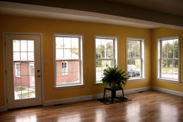 New Windows and Floors